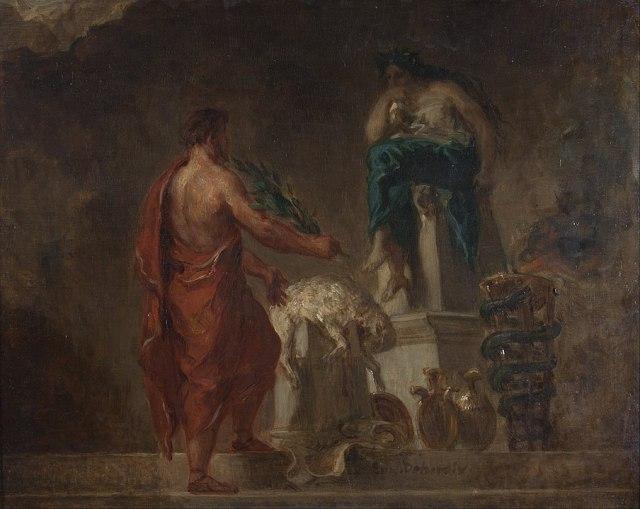 904px-Eugène_Delacroix_-_Lycurgus_Consulting_the_Pythia_-_Google_Art_Project